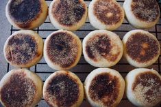 Sourdough English muffins | The Swirling Spoon