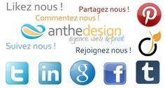 Les réseaux sociaux prennent une place de plus en plus importante dans nos vies. Ils connaissent un engouement auprès d'un public très varié.... La suite de l'article www.anthedesign.fr/reseaux-sociaux/