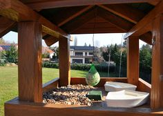 Cinkegolyó házilag Outdoor Furniture, Outdoor Decor, Lily, Home Decor, Nature, Garden Furniture Outlet, Home Interior Design, Decoration Home, Backyard Furniture