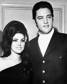 Priscilla and Elvis at the Flamingo Hotel, Las Vegas, 1968