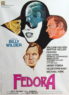 """Fedora"" (1978). DIRECTOR: Billy Wilder."