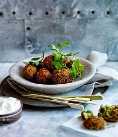 Australian Gourmet Traveller recipe for falafel.