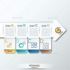 Modern Infographics Paper Template #design Download: http://graphicriver.net/item/modern-infographics-paper-template/12429597?ref=ksioks