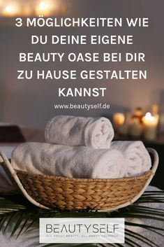 3 ways to make your own beauty oasis at home Learn all about it now and shop for the best products at BEAUTYSELF! Entspannendes Bad, Spa Tag, Make Your Own, Make It Yourself, Wellness Spa, Diy Spa, Home Spa, Beauty, Skincare