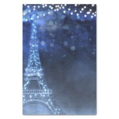 Enchanted Night in Paris String Lights Custom Tissue Paper - bridal party gifts wedding ideas diy custom Wedding Shower Gifts, Gifts For Wedding Party, Bridal Gifts, Shower Party, Party Gifts, Starry Night Prom, Paris Invitations, Wedding Paper, Wedding Pins