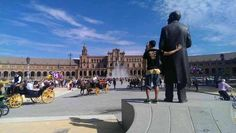 Plaza de España en Sevilla, Andalucía