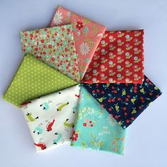 Bonnie and Camille Vintage Picnic landed today! Bundles and yardage available, so come and stop by my shop & grab it while you can - this one's going to be popular!
