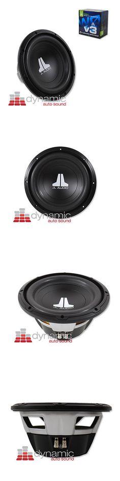 "Car Subwoofers: Jl Audio 10W0v3 Car Subwoofer 10"" Svc 4-Ohm 300W Sub 10W0v3-4 Woofer New -> BUY IT NOW ONLY: $99.95 on eBay!"
