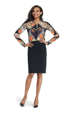 Amour Blouse - Cabi Fall 2015 Collection