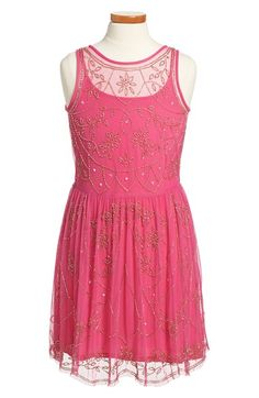 Ruby & Bloom Beaded Dress (Big Girls) available at #Nordstrom