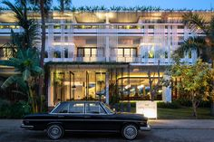 Viroth's Hotel (New Wing) is ready for welcoming guests. Enjoy airport pick up in our vintage Mercedes.