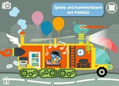 Kinder App: Pango Imaginary Car