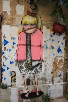 Athens graffiti. Street art