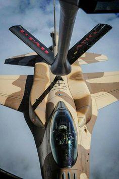 Rmaf f16 block 52 aerial refueling