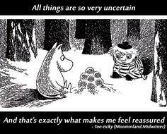 Uncertainty can be reassuring, as the Finnish Moomin characters teach us… Moomin Shop, Moomin Valley, Tove Jansson, Little My, Memento Mori, Wall Collage, In This World, Childrens Books, Troll