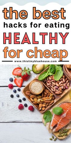 Here are 10 easy hacks to eat healthy for far less money. These easy tips will help you stretch your food budget and eat healthier for far less money. Food Budget, Budget Meals, Eat Healthy Cheap, Healthy Eating, Grocery Savings Tips, Easy Hacks, Managing Your Money, Budgeting Tips, Money Saving Tips