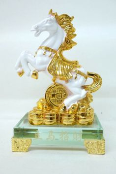Feng Shui Horse Figurine (Year of the Horse Chinese New Year Gift)