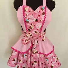 A personal favorite from my Etsy shop https://www.etsy.com/ca/listing/494636572/sweet-cupcake-apron