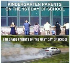 Funny Parent Reactions To Their Kids Going Back To School - 19 hilarious photos of parents celebrating the day their kids go back to school