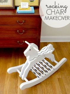 Rocking horse makeover for less than $15 bucks! - C.R.A.F.T.