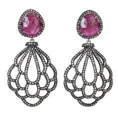 Camellia Earrings on AHAlife