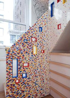 Jenkies! Yes that is Lego!! idk why but i would love something in my house to be made out of legos