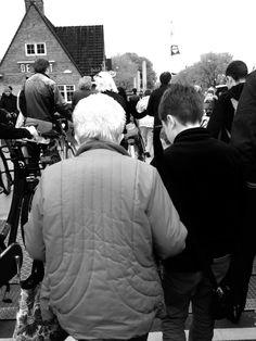 Tutti a piedi o in bici (Amsterdam nord )