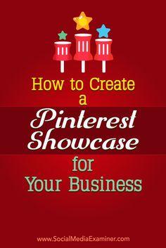 Pinterest showcases