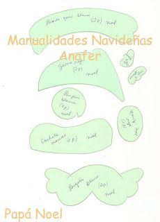 Manualidades Anafer: Moldes Cilantro, Christmas, Cards, Diy, Patterns, Bed Skirts, Feltro, Xmas, Handmade Christmas Decorations