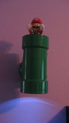 Super Mario Bros Warp Pipe LED Light Lamp Two-Way. $31.99, via Etsy.