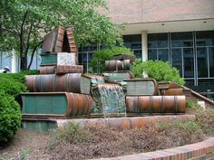 Public Library fountain, Cincinnati, Ohio