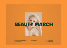Caterina Bianchini x Beauty March