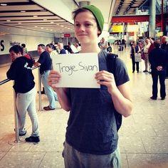 Caspar Lee! Troye Sivan