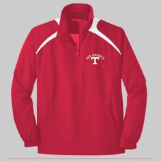 Toronto Logo Embroidery  - 1/2 Zip Wind Shirt