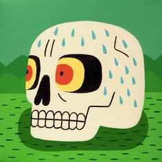 Pop Culture-Inspired Paintings by Jack Teagle | Inspiration Grid | Design Inspiration