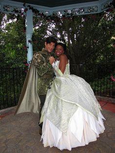 Princess Tiana and Prince Naveen | photo
