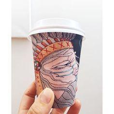 BioPak Art Series Cup Art, Art Series, Mugs, Cups, Mug