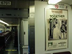 Love royalty? Our ad featuring the Michener Art Museum's upcoming exhibit dedicated to Grace Kelly can be spotted on NJ Transit trains.