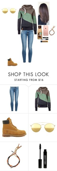 """Untitled #471"" by tate16 ❤ liked on Polyvore featuring Paige Denim, Timberland, Mykita, Tada & Toy, Lord & Berry and Burt's Bees"