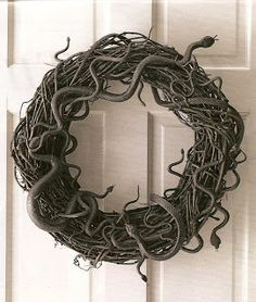 The McIllece Spot: Finding A New Normal & A Snake Wreath