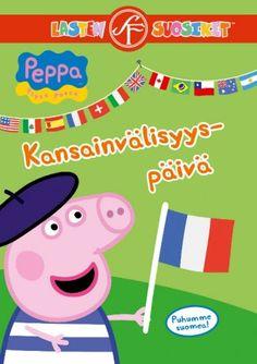 Pipsa Possu: Kansainvälisyyspäivä dvd. Maailmassa on monia mantereita ja hurja määrä maita. Teemapäivänä Pipsa saa mahdollisuuden tutustua eri kansallisuuksiin ja oppii, että kulttuureita ja tapoja on monenlaisia. Löydämme myös maailman suurimman kuralätäkön, mitähän sitten tapahtuu? Peppa Pig, Amazon Dvd, Film Up, International Day, Dvd Blu Ray, Free Uk, Family Guy, Kids Rugs, Fictional Characters