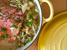 How to Cook Salmon in a Braiser // How to Braise Salmon » Chez Bonne Femme