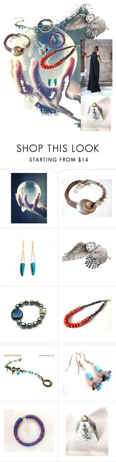 """Fortune teller"" by planitisgi ❤ liked on Polyvore featuring handmadejewelry, polyvorebest and ETSYShopping"