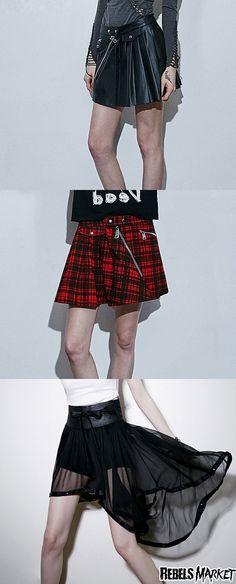 Shop punk skirts at RebelsMarket.