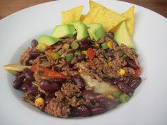 Kleurrijke Chili Con Carne