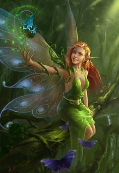fairy, Z Smith Fairy Pictures, Fantasy Pictures, Beautiful Fantasy Art, Beautiful Fairies, Beautiful Artwork, Elfen Tattoo, Elfen Fantasy, Image Digital, Love Fairy