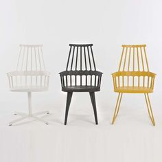 Comback Chairs | Design by Patricia Urquiola |  Made in Italy by Kartell
