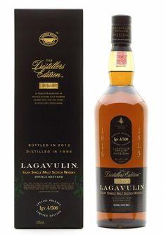 Lagavulin Distillers Edition 2012: Double matured in Pedro Ximenez Cask Wood (single malt Scotch whiskey)