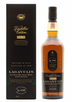 Lagavulin Distillers Edition 2012: Double matured in Pedro Ximenez Cask Wood (single malt Scotch whiskey)