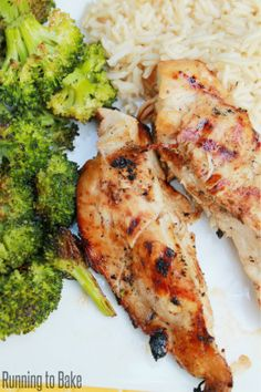 Honey Lime BBQ Chicken {Clean Eating} | My Real Life Kitchen